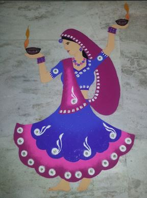 Rangoli Designs Women's Day