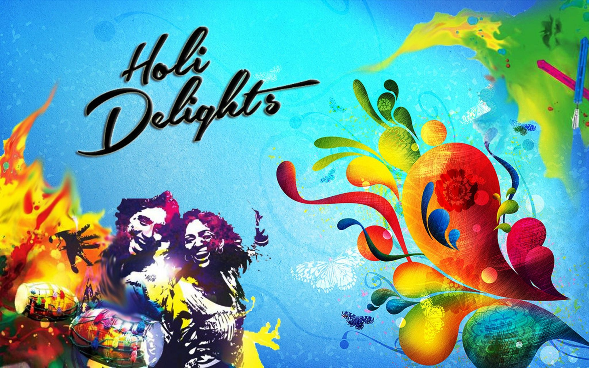 BEST HOLI SMS MESSAGES COLLECTION IN HINDI
