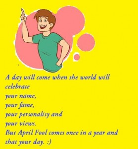 Awesome April Fools day Messages
