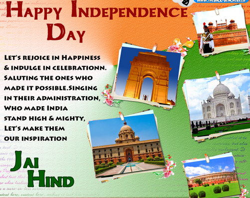 Happy Independence Day English
