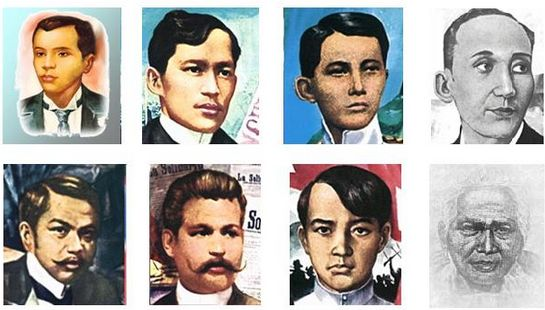 Heroes of national-heroes-day Phillipines