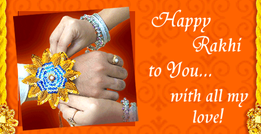 Best top 10 rakhi greeting e cards raksha bandhan images pics raki greeting card for sister m4hsunfo