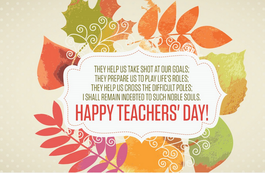 Top 20 teachers day greetings e cards images pictures photos with happy teachers day greeting cards m4hsunfo