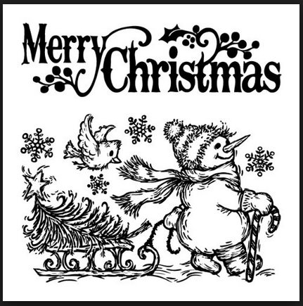 Christmas Ink Stamps for making cards