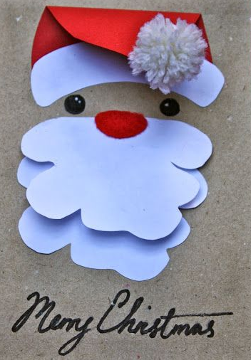 Christmas  Making cards for kids