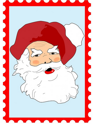 Christmas Rubber Stamps For Making cards