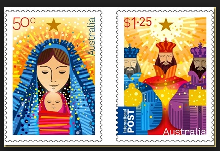 Christmas Stamps 2014 Australia Post