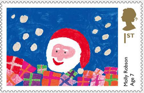 Christmas Stamps 2014 UK