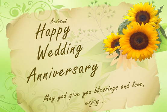 Awesome happy wedding anniversary wishes greetings world