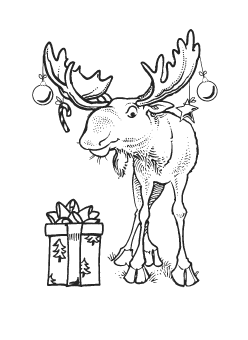 christmas 2014 rubber stamps for card making