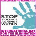 International Day for the Elimination of Violence against Women 25 November Theme History Logo Date