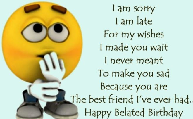 belated happy birthday wishes to best friend messages images greetings