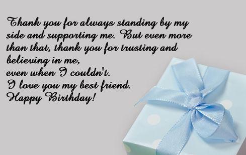 best happy birthday wishes to best friend poems