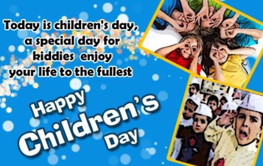 Cutest Happy Children's Day Images Greetings E-Cards Pictures Free Download Pics Kids