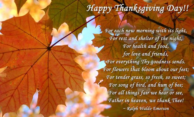 101 Best Thanksgiving Day Quotes Wishes Greeting Cards Text Messages for Parents Friends Images USA CANADA
