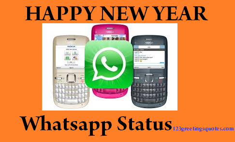 2015 new year whatsapp status message update wishes latest one line messages collection greetings images to