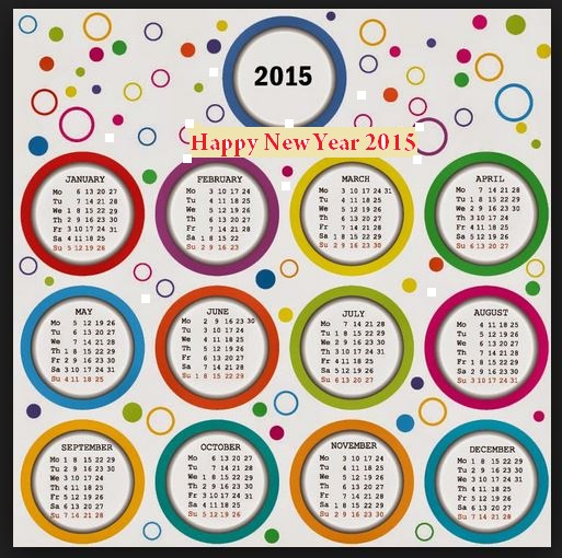 colorful printable new year calender 2015 with holidays easy share online for kids children wallpaper hd photoshop