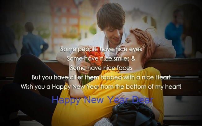 happy nwe year boyfriend girl friend romantic new year 2015 wallpapers hd pictures pics sms messages
