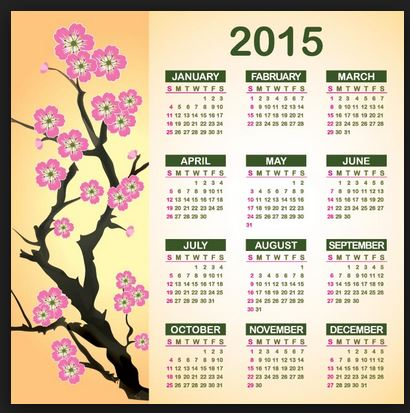 business new year calender 2015 with holidays printable share online