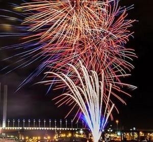 Australia Day 2015 Fireworks