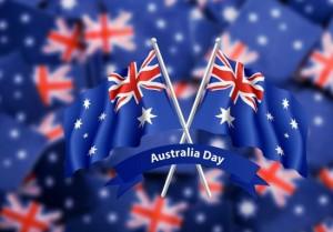Australia Day 2015 flag