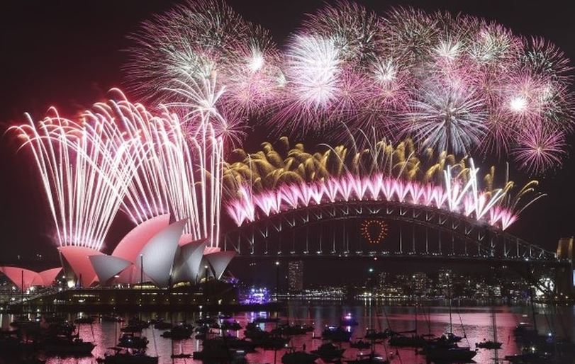 Must Watch Fireworks New Year 2015 Celebrations Videos round the Globe