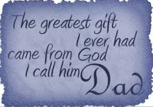 birthday quotes for dad in heaven