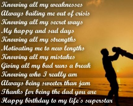 Heart Touching 77 Happy Birthday DAD Quotes:Greetings World