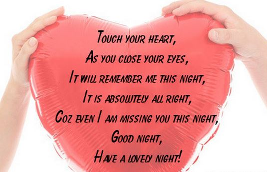 nice good night images for lover saying miss you
