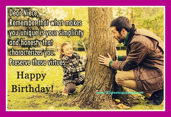birthday wishes for niece 1 year old from uncle