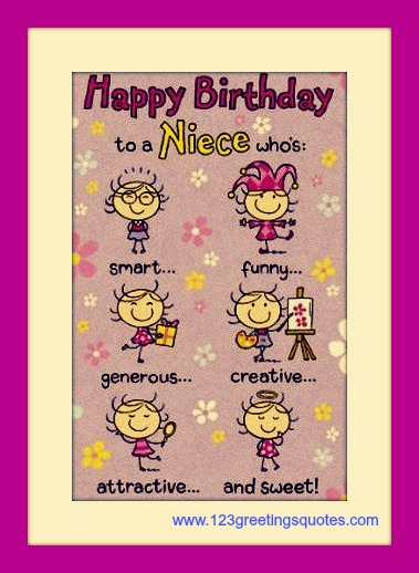 Niece Funny Happy Birthday Pictures