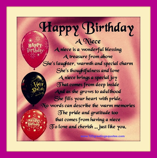 awesome happy birthday wishes for niece bday quotes messages