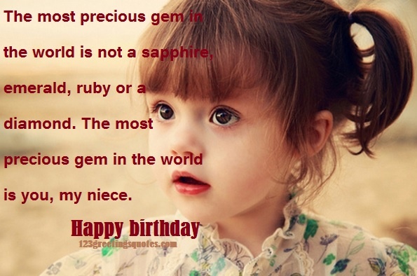 Happy birthday Image for Niece