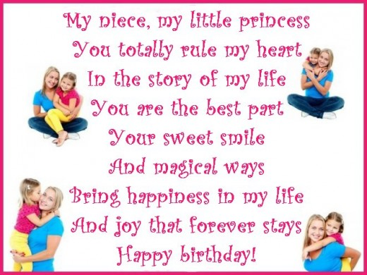 birthday niece wishes messages