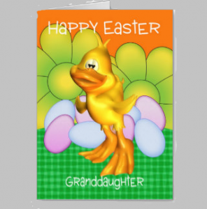 20 Adorable Granddaughter Easter Wishes Form Grand Parents {Greeting Cards}