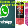 77 Self Birthday Status for Whatsapp-My Happy B'Day Statuses