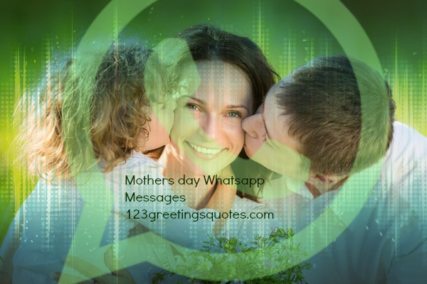 Long Mother's Day messages for Whatsapp