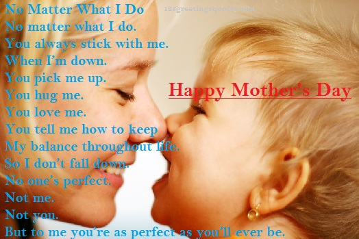 best Mothers day poems 2015 from son