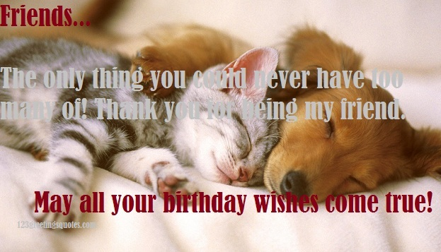 birthday quotes for friends far away