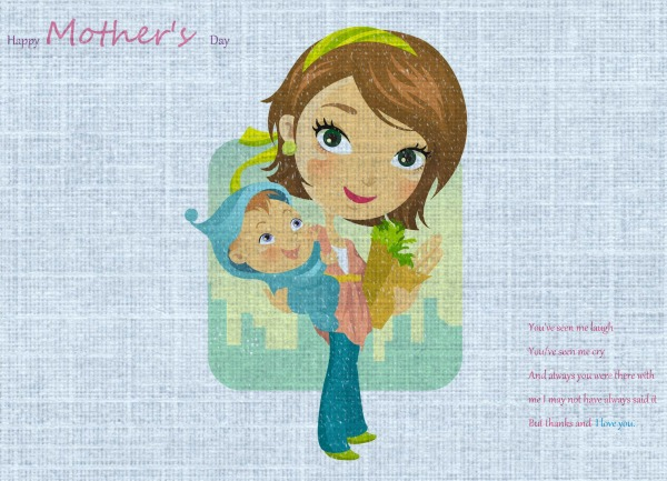 mother's day cartoon images