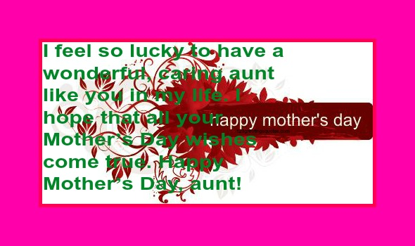 happy mothers day poems for aunts 2015