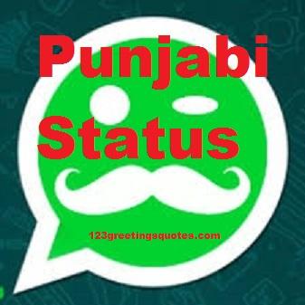 Top Punjabi Status for Whatsapp & FB on Funny LOVE Life