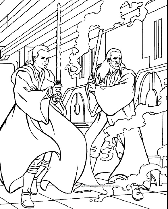 Star Wars Coloring Pages Printable 3