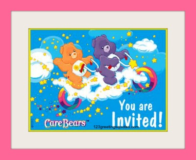 free printable birthday cards for kids party