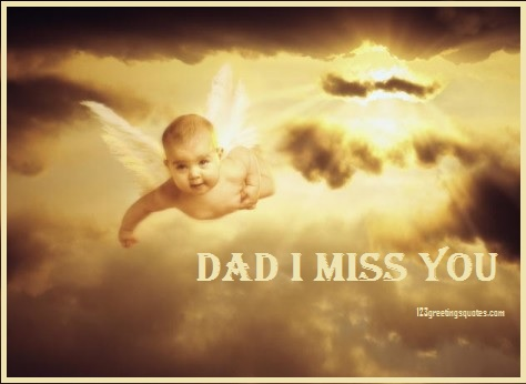 Fathers Day Poems from Baby in Heaven