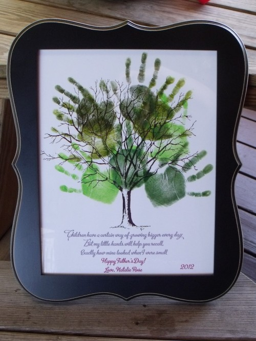 Fathers day Poems from Handprints for pre schoolers