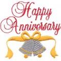 Wedding Anniversary Wishes in Hindi Font