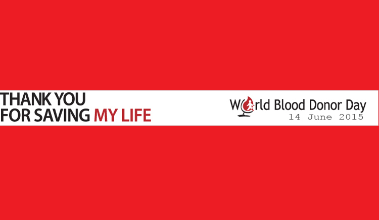 World Blood Donor Day  Poster 2015