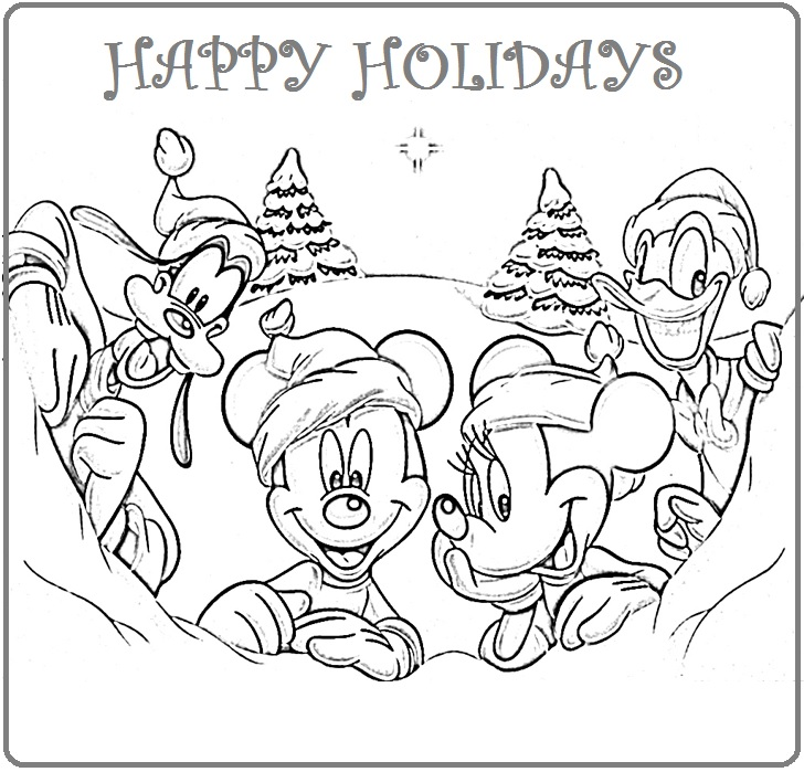 fREE holiday coloring pages printable FOR KIDS