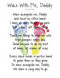 poems handprint for fathers day